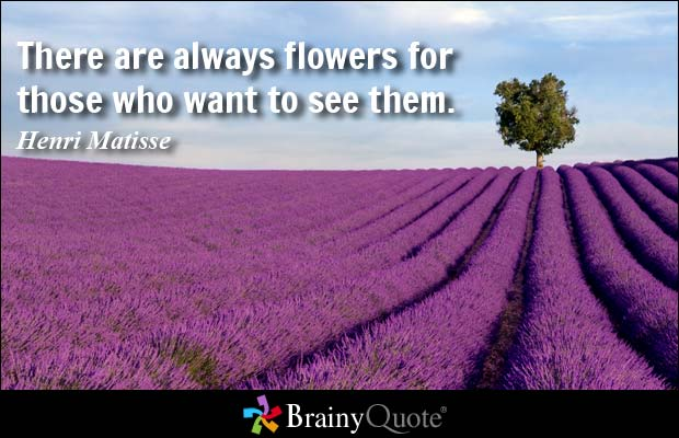 26 flower quotes