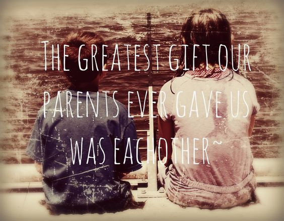 Top 29 Cute Brother Quotes from Sister – Life Quotes & Humor