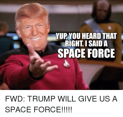 23 Funny Space Force Memes