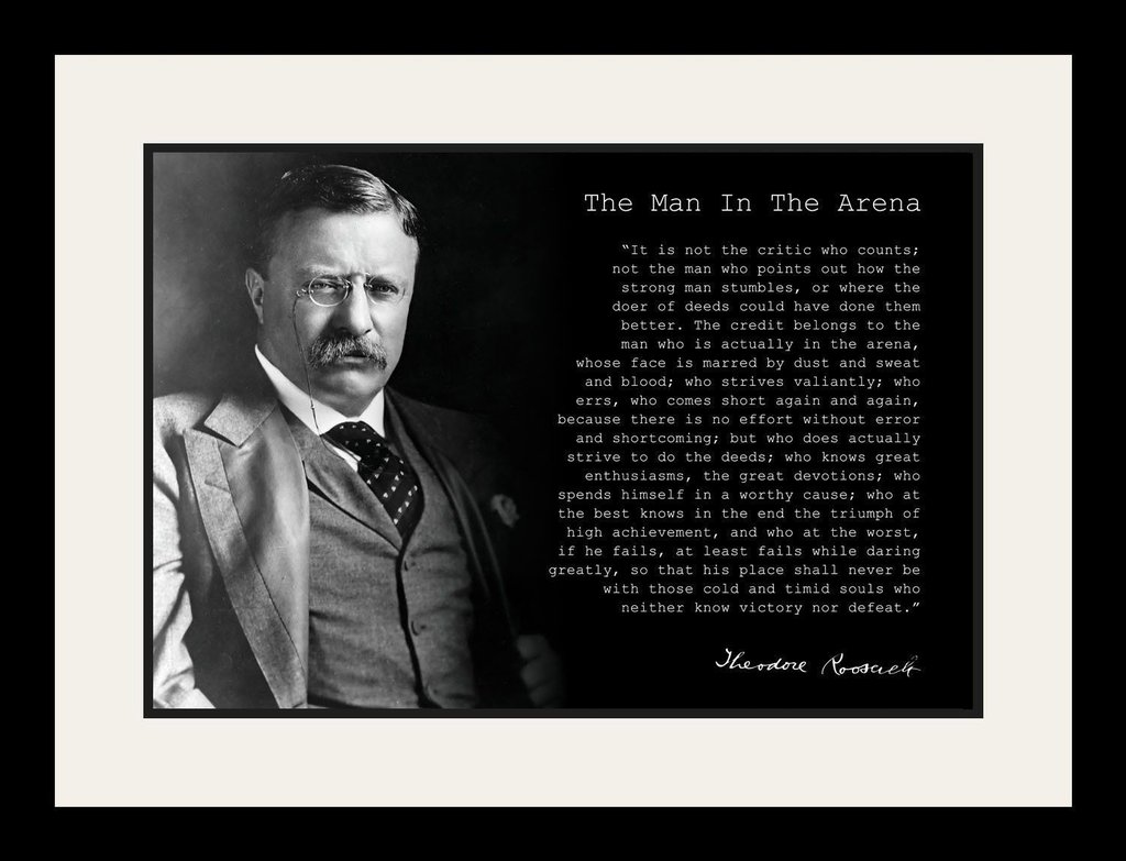 Best 19 #the #man #in #the #arena #quote