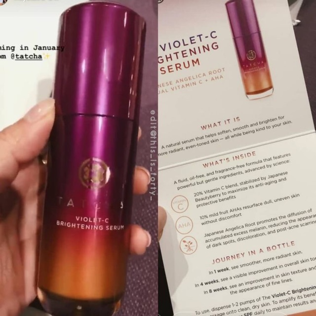 Tatcha Vitamin C Serum