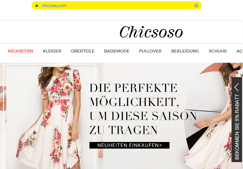 Chicsoso Reviews